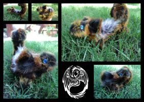 Perylli - Handmade OOAK mousy companion critter by SonsationalCreations