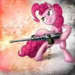 Pinkie browning m2 by rule1of1coldfire