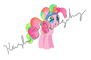 Crystal Empire Pinkie Pie by kaylathehedgehog
