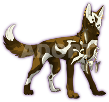 .:ADOPT:. Canine Point Auction [CLOSED] by Skitzopod