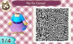 Animal Crossing: New Leaf Rarity Casual by renaxakai