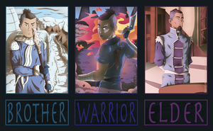 Avatar Evolutions: Sokka by BarnCatz