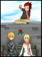KH:Under the Mistletoe by chocoga