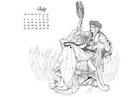 Calendar contest - July by adalheidis