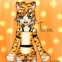 New Oc - Tora by MidoriKuro-chan10