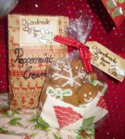 Handmade Gingerbreads And Peppermint Creams. by PossumPip-Creations