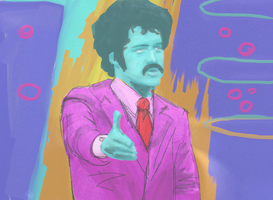 Alex Trebek Circa 1979 by I-like-Dirt
