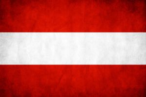 Austria Grunge Flag by think0