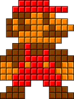 Tetris SMB Sprite by mike1967-now