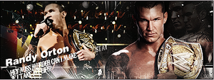The Viper Randy Orton. by XxJer3mxX