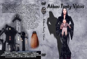 Addams Family Values DVD Cover by Black-Battlecat