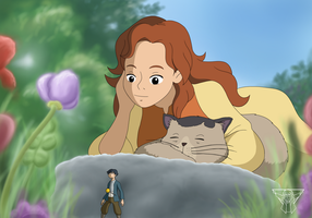 Opposite Beans - Arrietty by KnoxRobbins