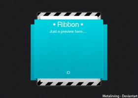 Big Ribbon .PSD by MetalIrving