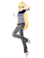 MMD TDA HIPSTER SWEET ANN + DL by TheCarrotKouhai
