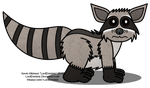 A Somewhat More Proper Raccoon by LordDominic