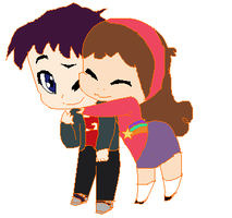 Randy Cunningham and Mabel Pines by PerkyGoth14