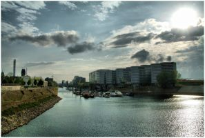 Duisburg Harbour by gregorland