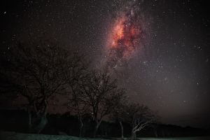 Red Milky Way by gifgof