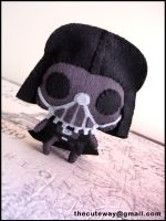 .:Darth Vader plushie:. by SaMtRoNiKa