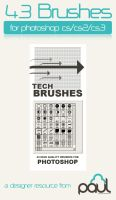 Tech Brush Mega Pack by PAULW