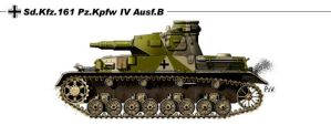 Sd Kfz 161 Pz Kpfw IV Ausf B by nicksikh