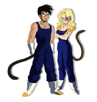 Dragon Ball Z Persona OC's by AliceParkes