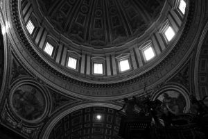 Inside St. Peters by mstargazer