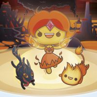 Fire Kingdom - Kawaii Adventure Time by SquidPig