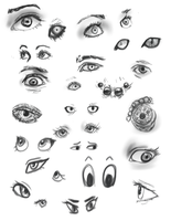 Eyes by shaduf