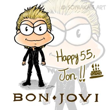 Happy 55th Birthday, Jon! by Soniaka