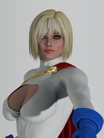 Power Girl by bigcurf