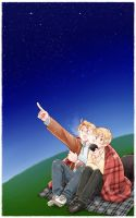 USUK - Stargazing by maiyeng