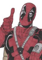 DeadPool - coloured by predator-fan