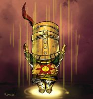 Dark Souls - Solaire of Astora by LucianoC