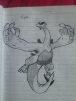 Lugia from Pokemon Gold/Silver/Crystal by artisticdreamer123