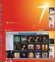 7 Desktop June '09 Revived by zawir