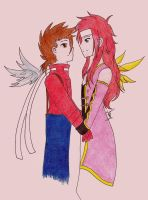 Fly on the Wings of Love by Minna-chan