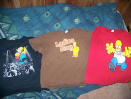 My Simpsons T-Shirts by jhwink