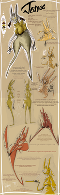 Jeanee : Reference Sheet by CurlyPoCkY