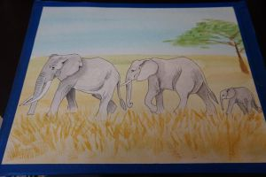 Elephants! by IckyDog