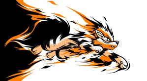 arcanine's flame by gilbert86II