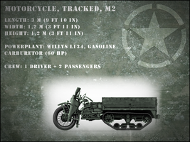 [What If] M2 Trackcycle - the Allied Kettenkrad by WormWoodTheStar