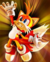 Tails In Action (edited) by TailsModernStyle