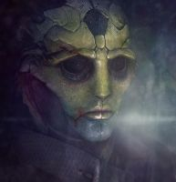 Thane Krios by Kaeriah
