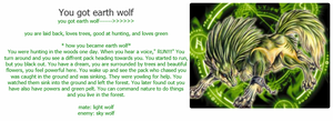 earth wolf by wolfofdeth