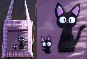Purple Jiji bag by yael360