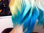 My Blue Hair by deadsoul101