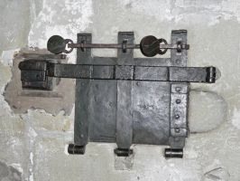 old cast iron church safe by clandestine-stock