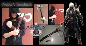 Assasins Creed III Connor's Tomahawk by SP4RT4N-23