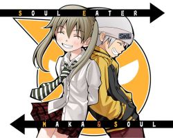 Soul And Maka Wallpaper by DistantMemoriies